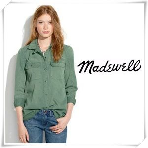 Madewell Color fade ExBoyfriend Button Down Shirt